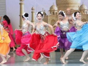 エスニックジャズダンスのオープンレッスン